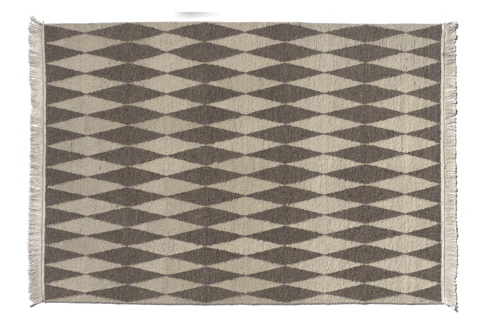 CP02 Neyriz Carpet Quartz Grey and White, 200x300 cm