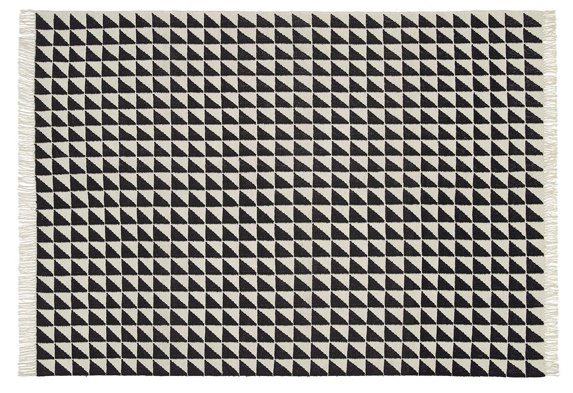 CP04 Iza Carpet Black & White, 120x80 cm