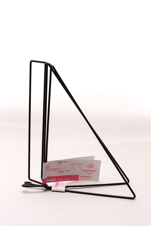 Equerres - Set of 2 Shelf Brackets Matte Black
