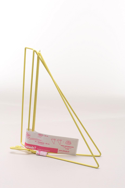Equerres - Set of 2 Shelf Brackets Yellow