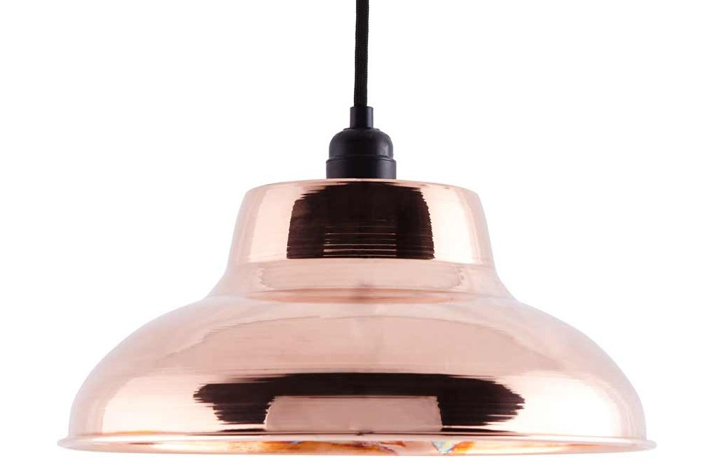 CU002 Industrial Copper Pendant