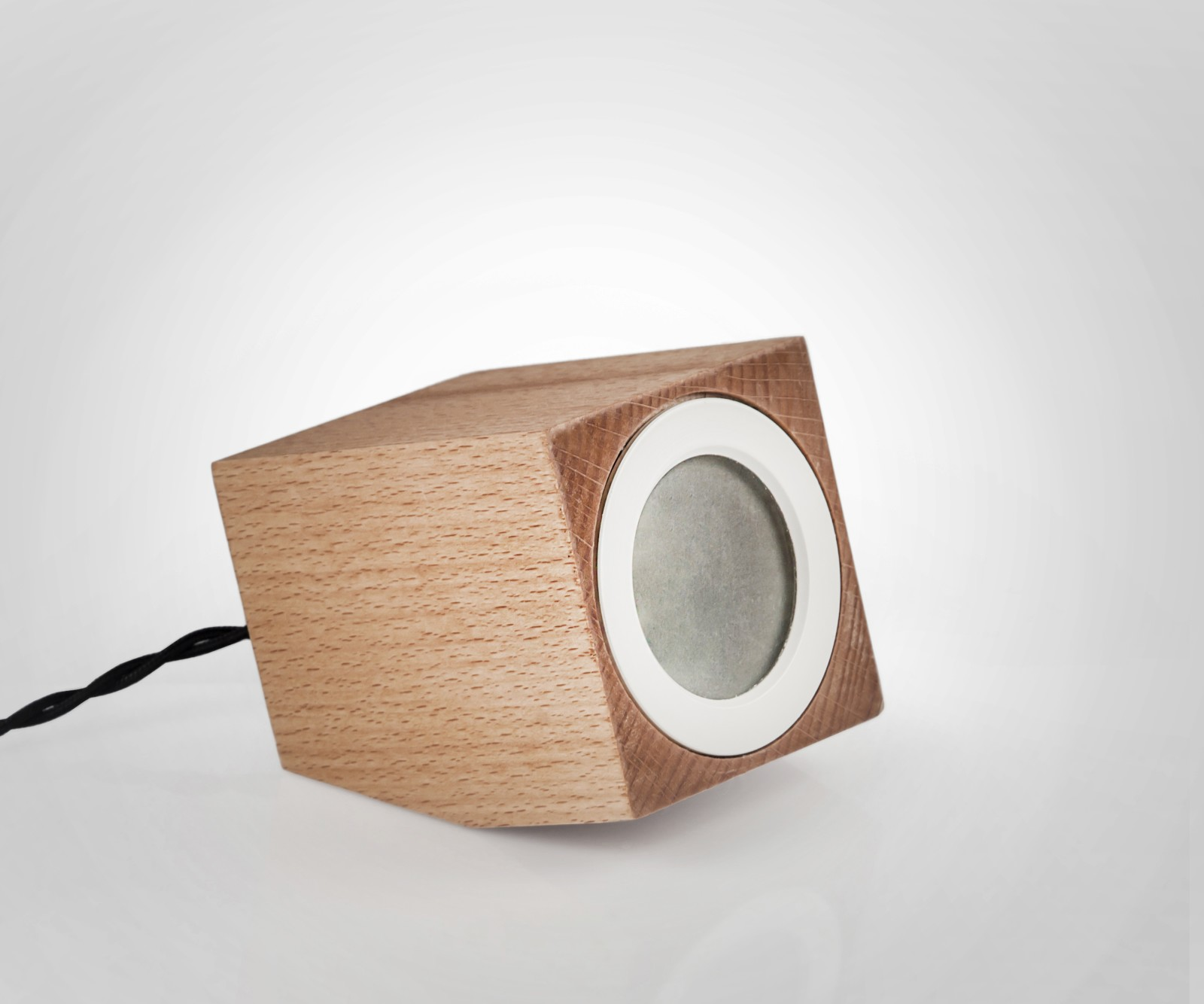 Cubo Lamp White Ring