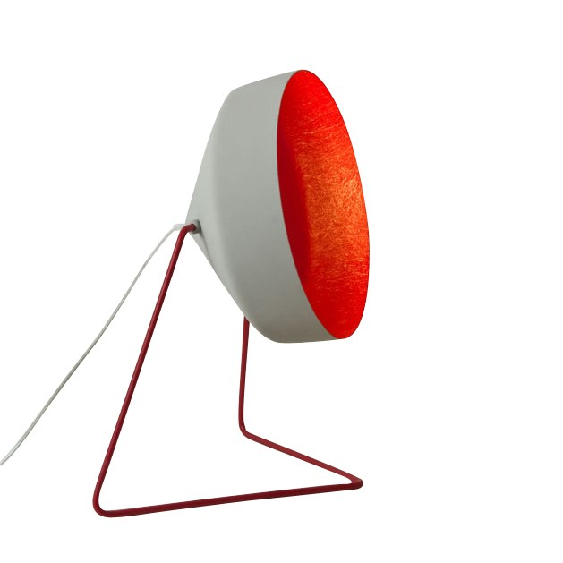 Cyrcus F Floor Lamp Cement, Red