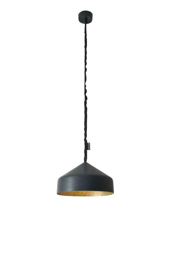 Cyrcus Pendant Light Lavagna, Gold