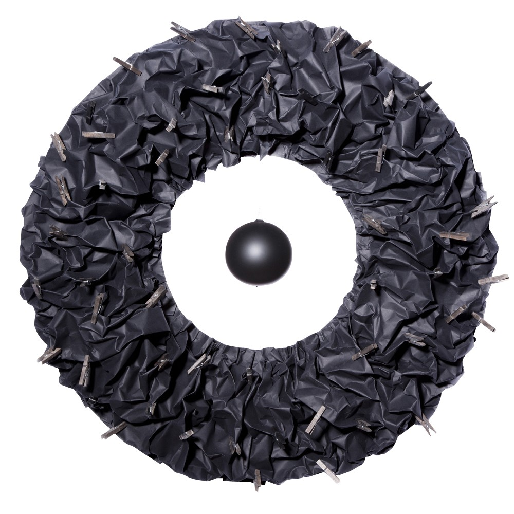D-Donut Wall Decor Black