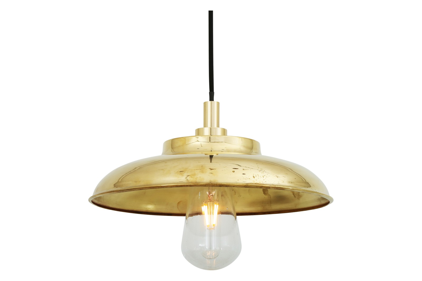 Darya Pendant Light Polished Brass