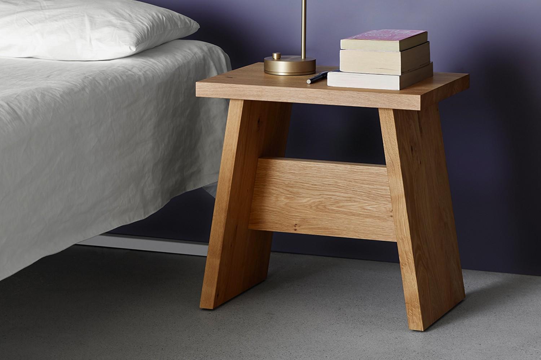 DC03 Langley Side Table/Stool Oiled Oak