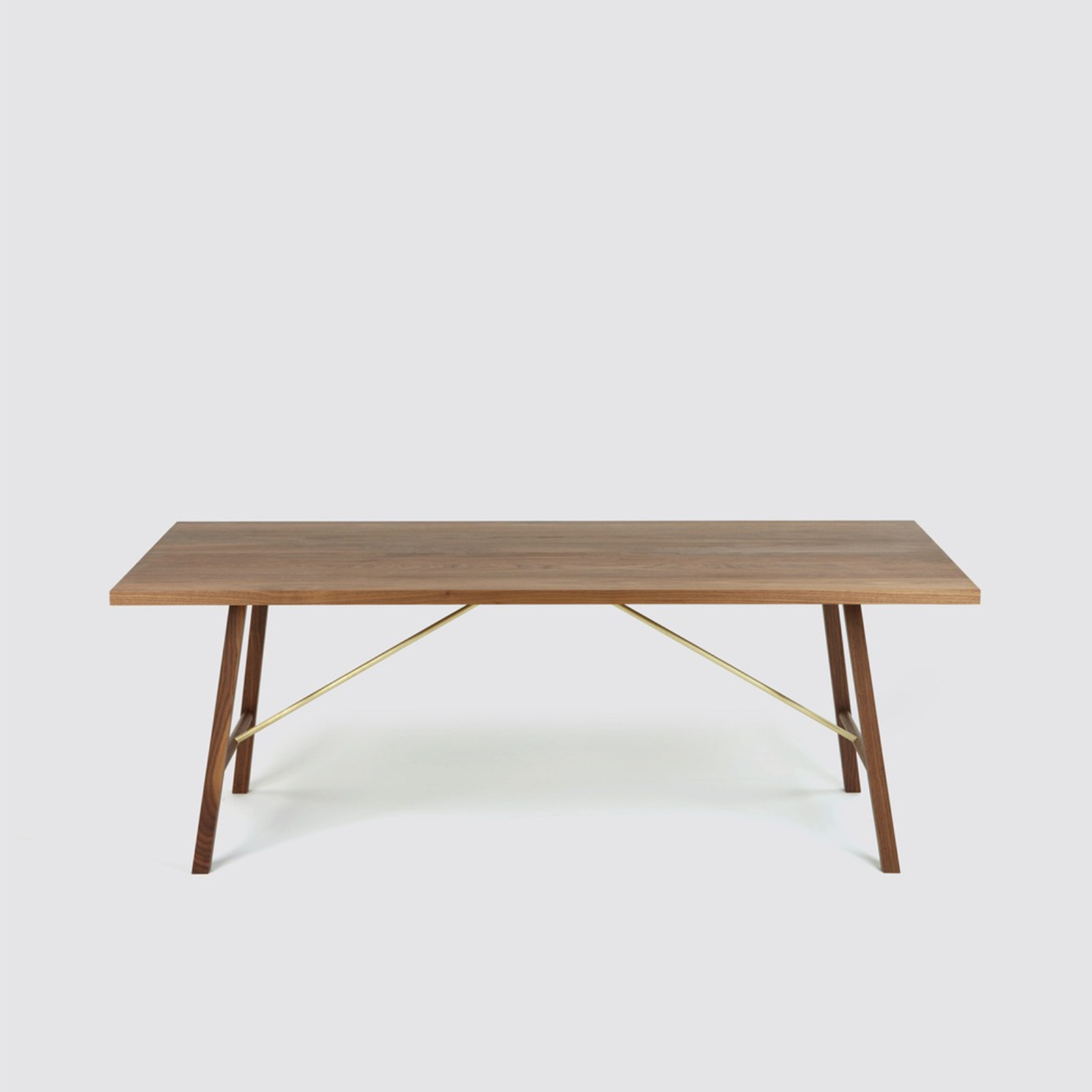 Dining Table Two Walnut, 180 cm Long