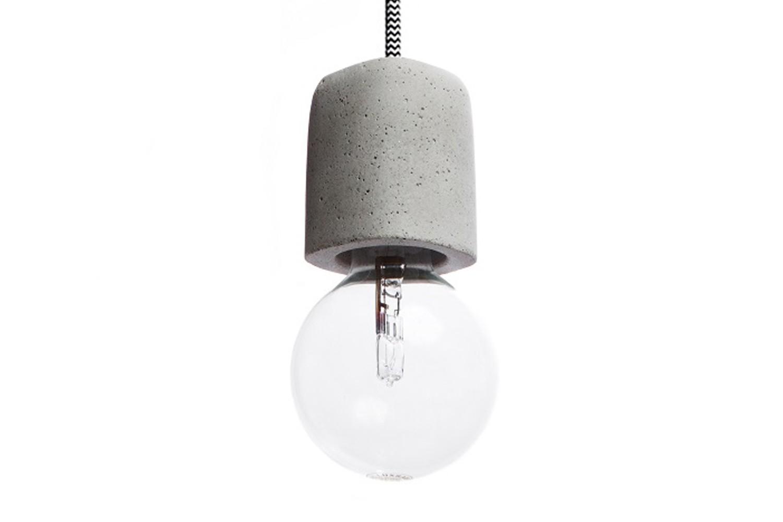 Dolio Q Concrete Pendant Light 200 cm Cable Lenght