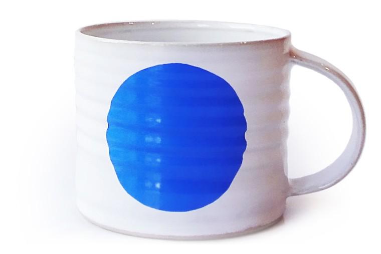 Dot Mug Blue, Medium