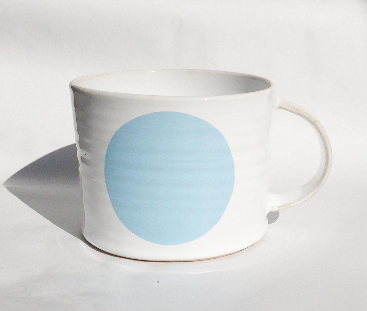 Dot Mug light blue, Extra Large