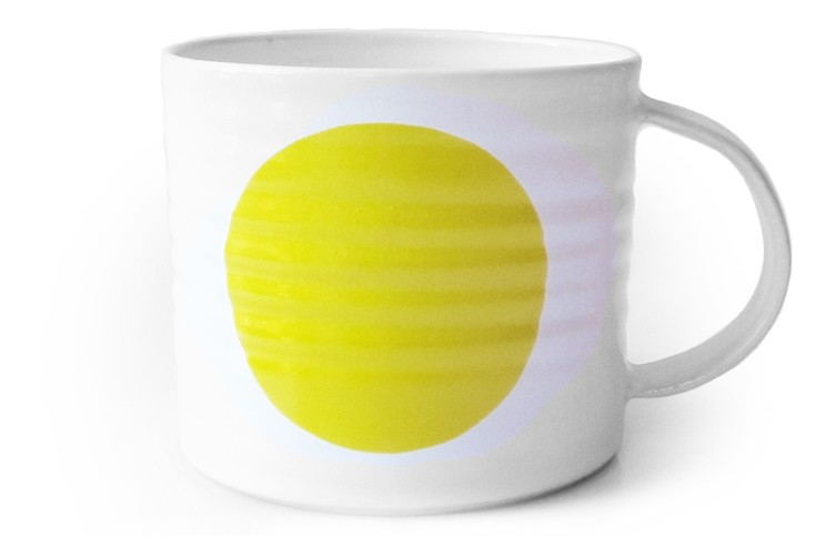 Dot Mug Yellow, Medium