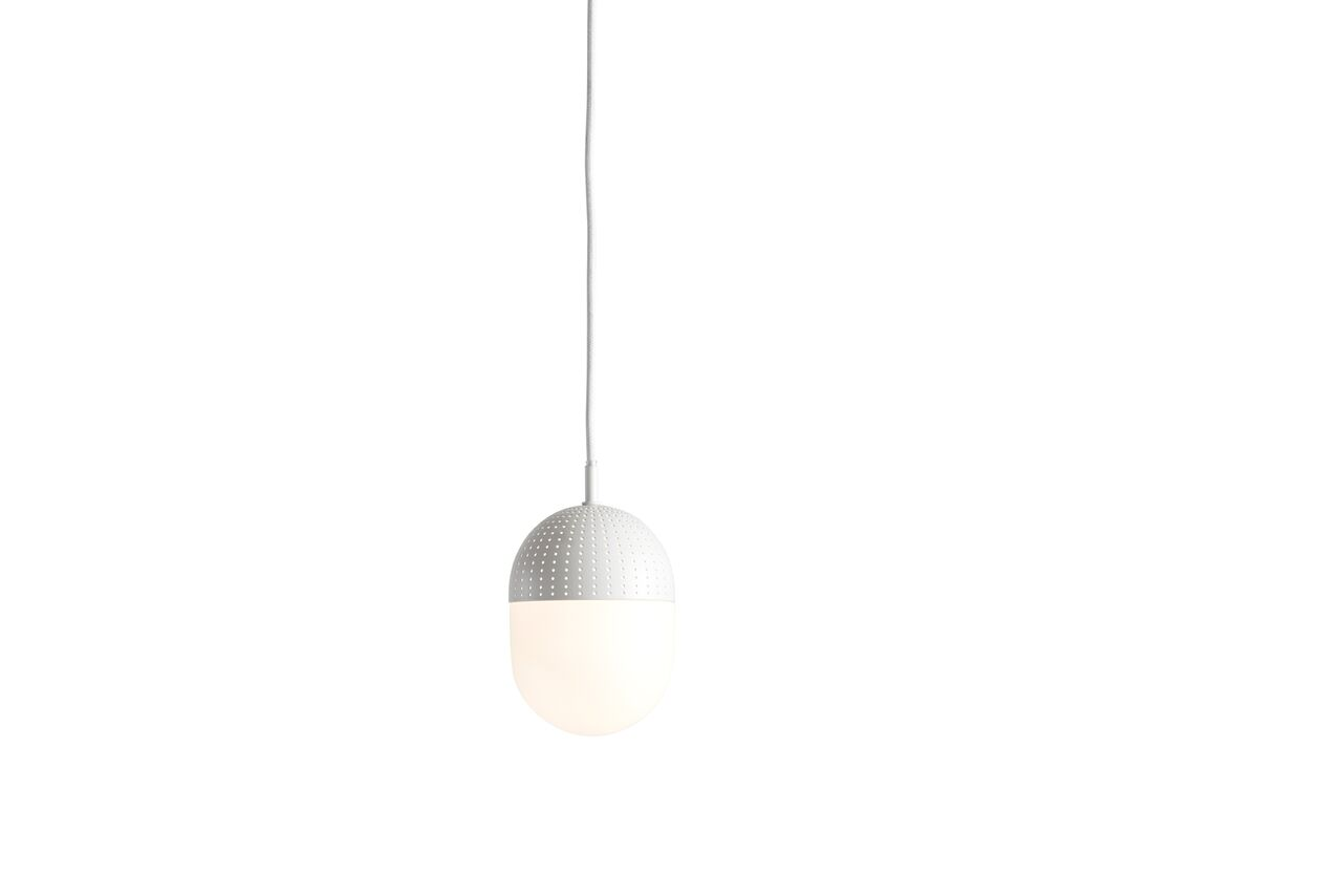 Dot Pendant Light Medium - Set of 2 White
