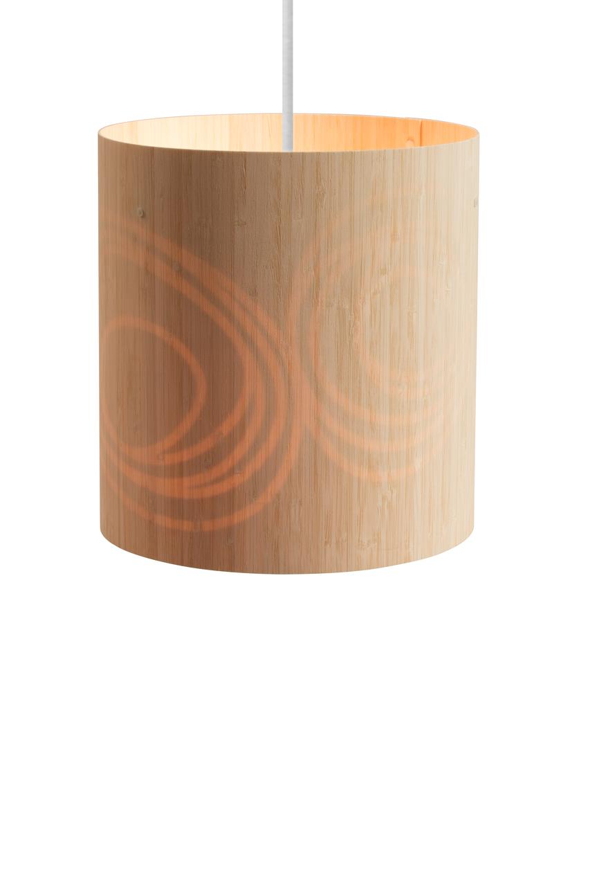 Drum Pendant Light Pebbles