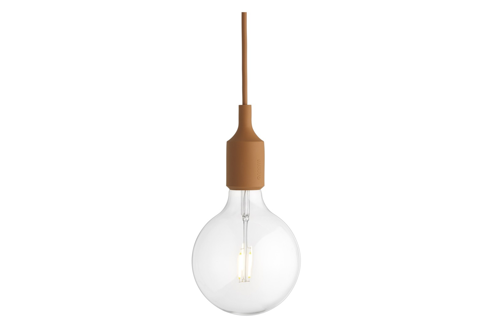 E27 Pendant Light - Set of 4 Clay Brown