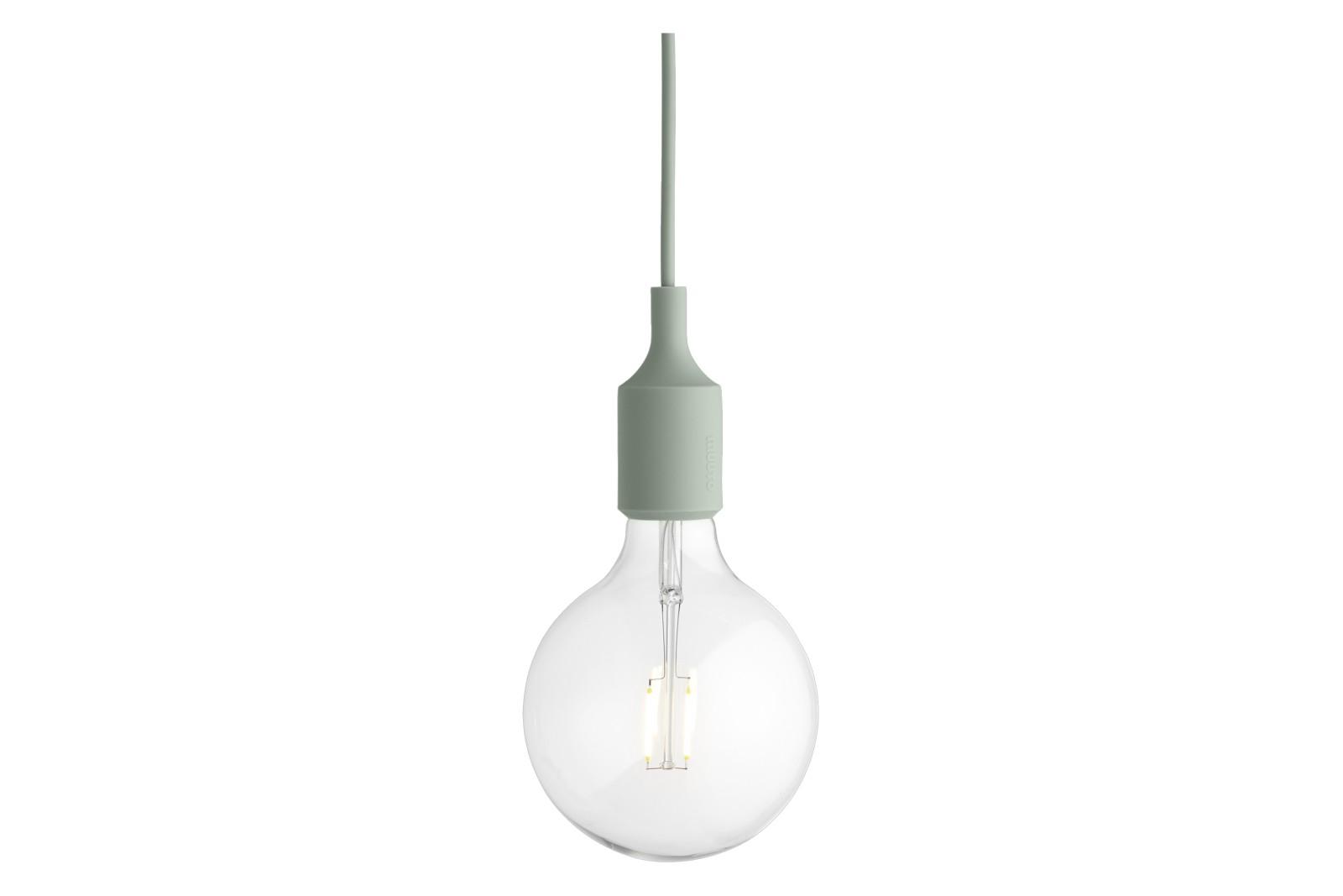 E27 Pendant Light - Set of 4 Light Green