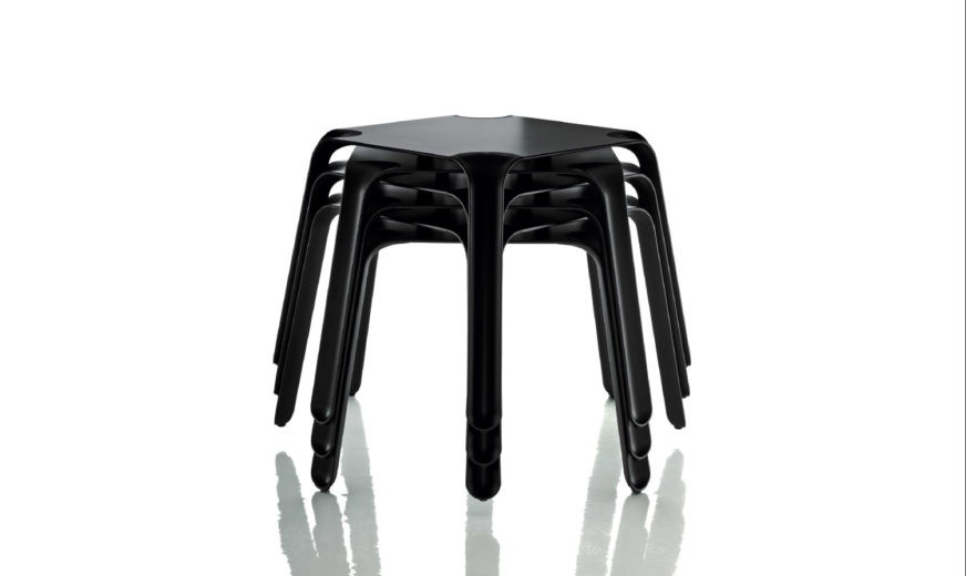 Easy Stacking Table Black