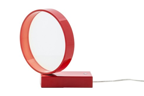 Eclittica 20 Table Lamp Red