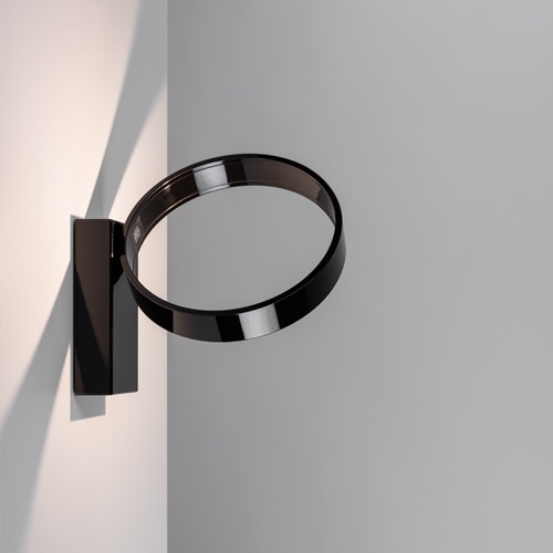 Eclittica 20 Wall/Ceiling Light Black