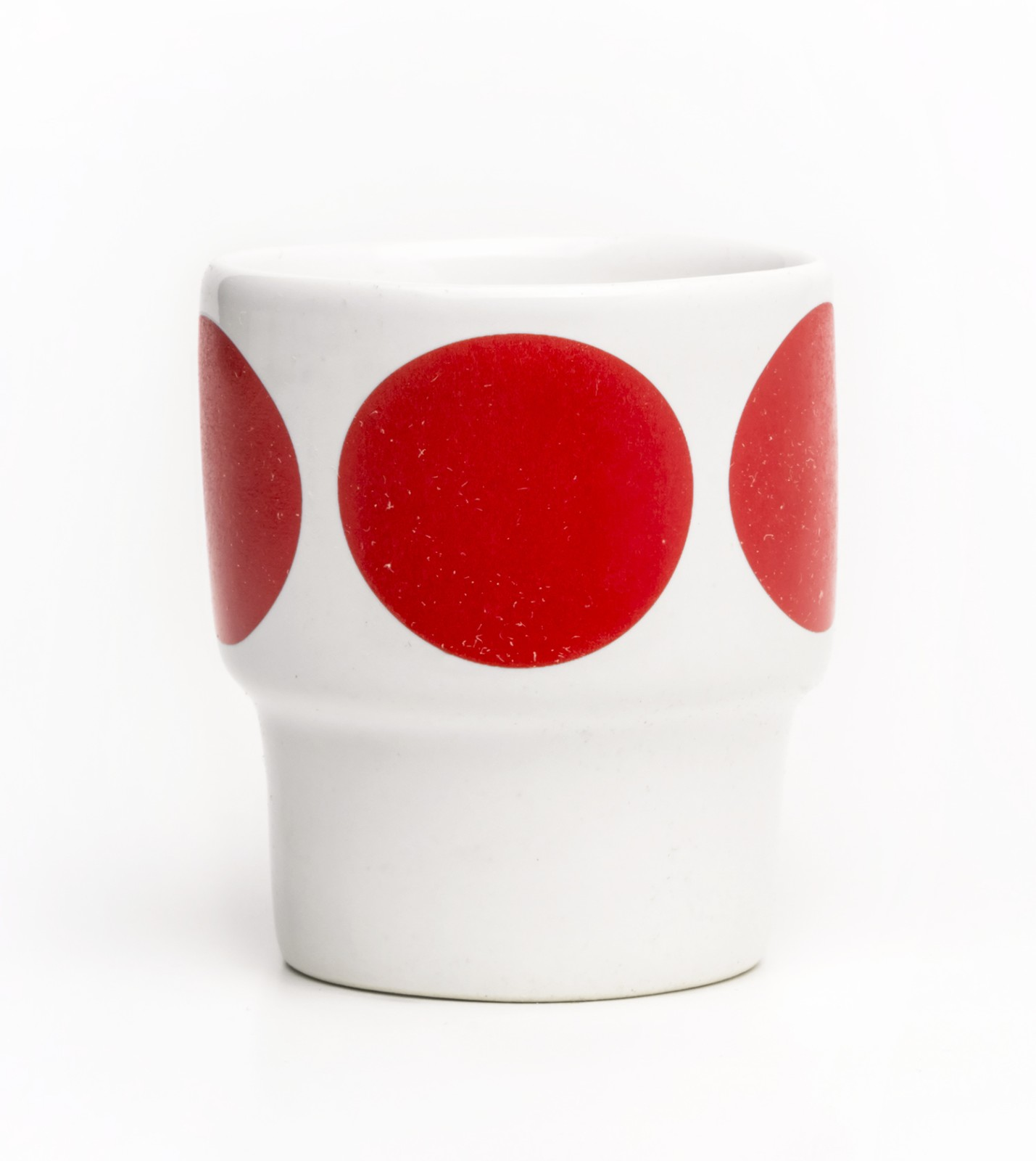 Egg Cups - Set of 2 red