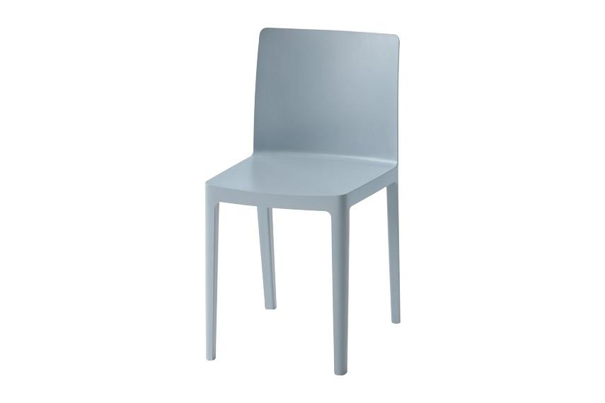 Elémentaire Dining Chair - Set of 2 Blue Grey