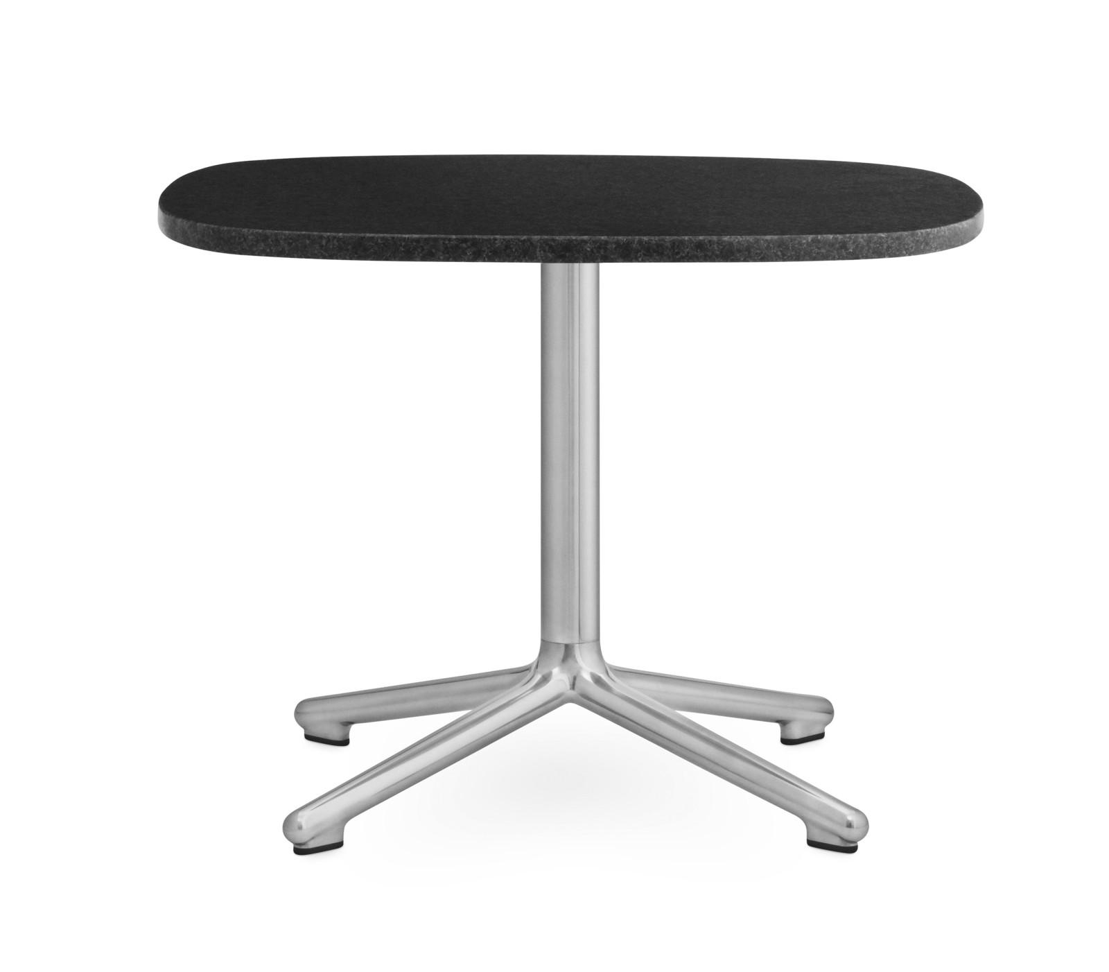 Era Side Table Black, 60 x 48.5