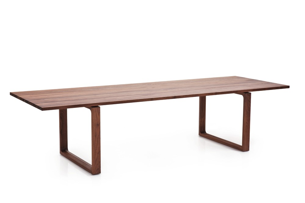 Essay Dining Table Large, Walnut