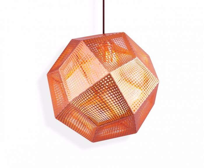 Etch Pendant Light Copper