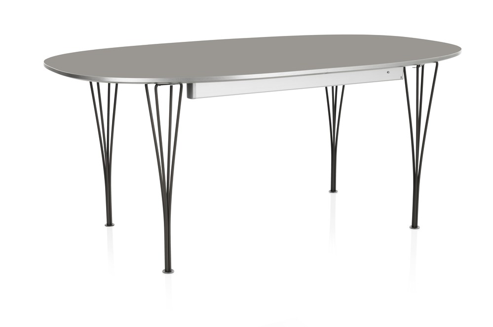 Extendable Table Laminate Special Colour Grey Efeso 100 x 170/270 Grey