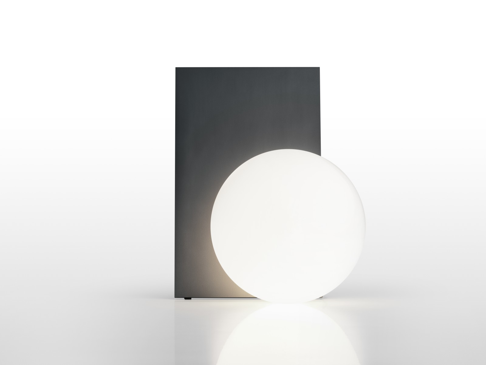 Extra T Table Lamp Anodized Graphite