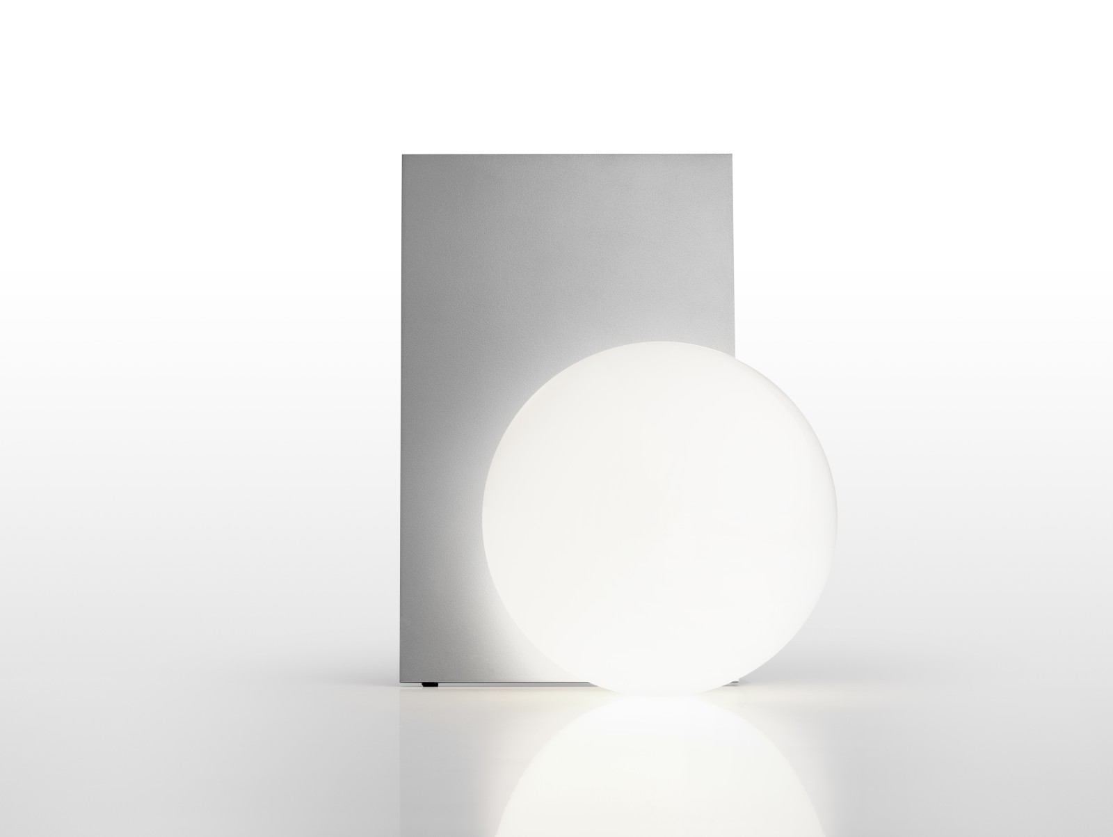 Extra T Table Lamp Silver