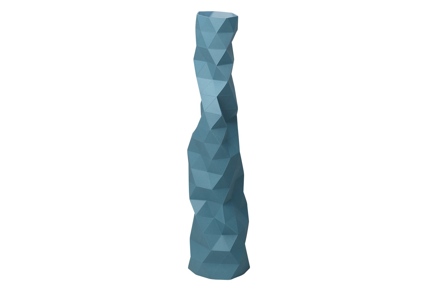 Faceture Vase Blue, Small