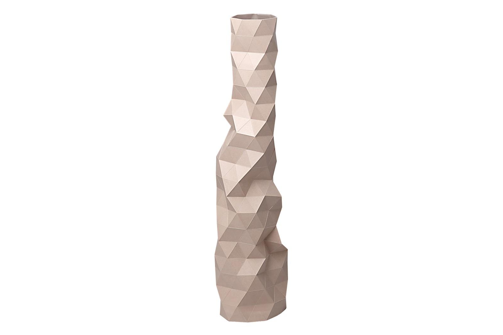 Faceture Vase Pink, Large