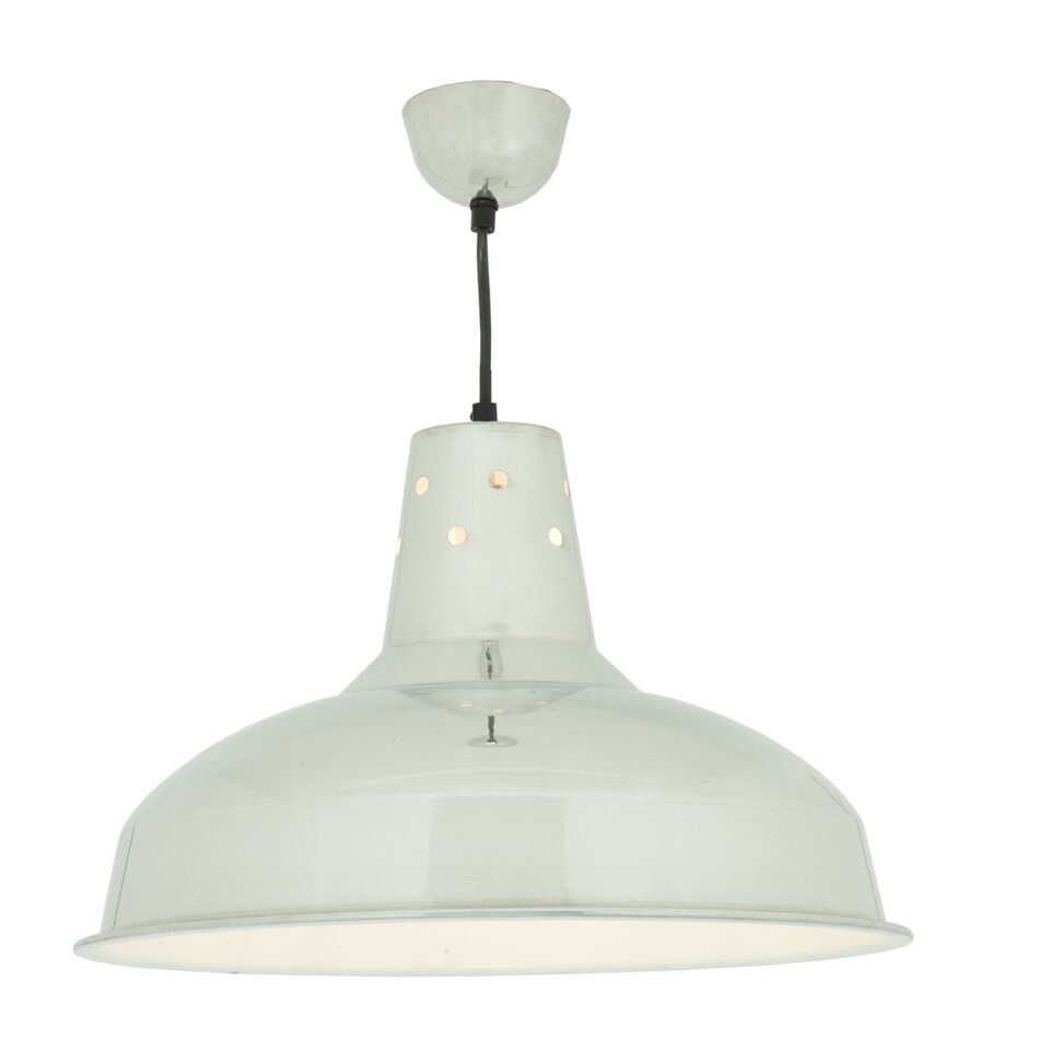 Factory Pendant Light 7201 Polished Aluminium