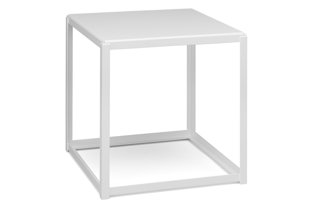 FK12 Fortyforty Stackable Side Table Signal White, Powder Coated Steel Signal white, None