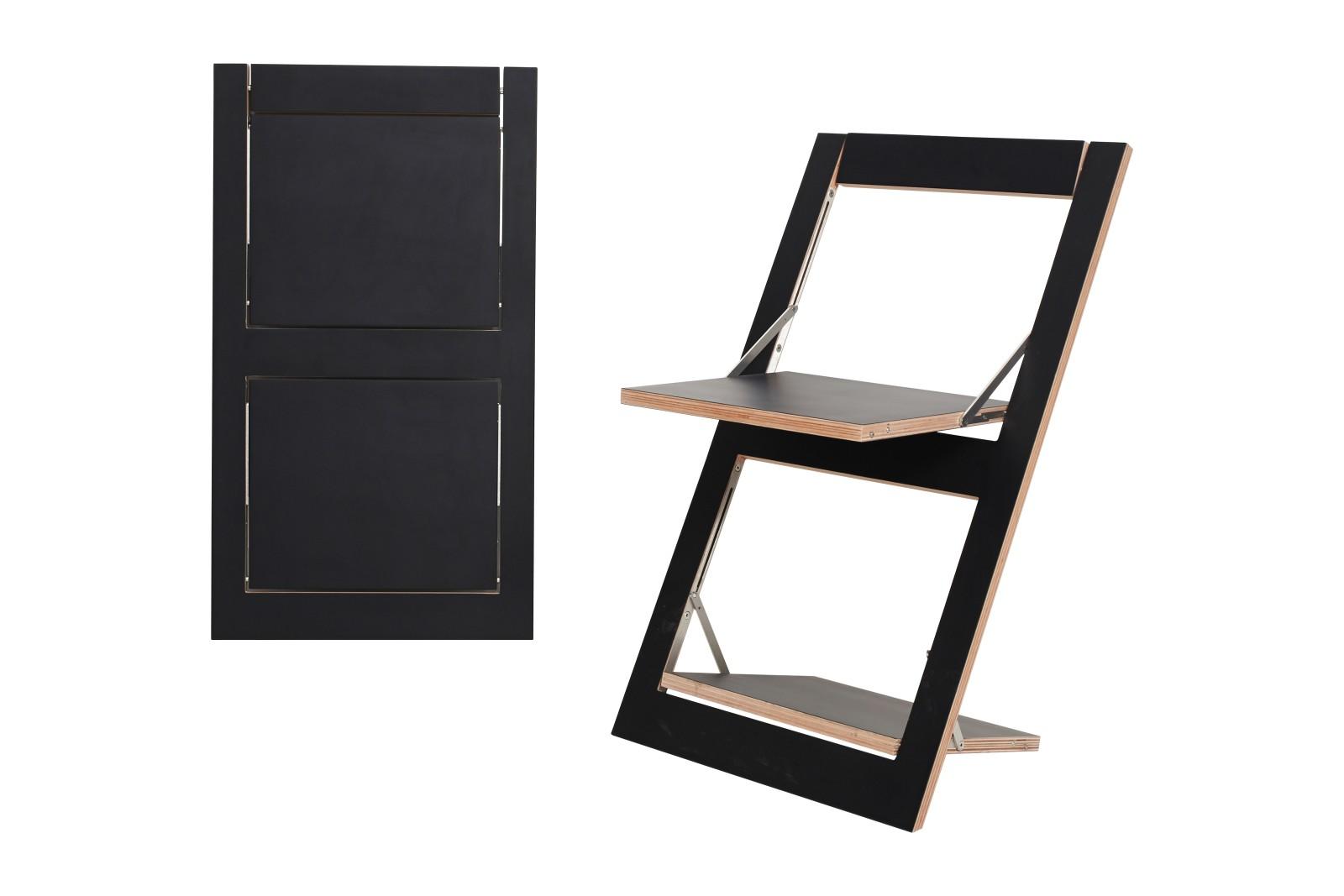 Fläpps Folding Chair Black