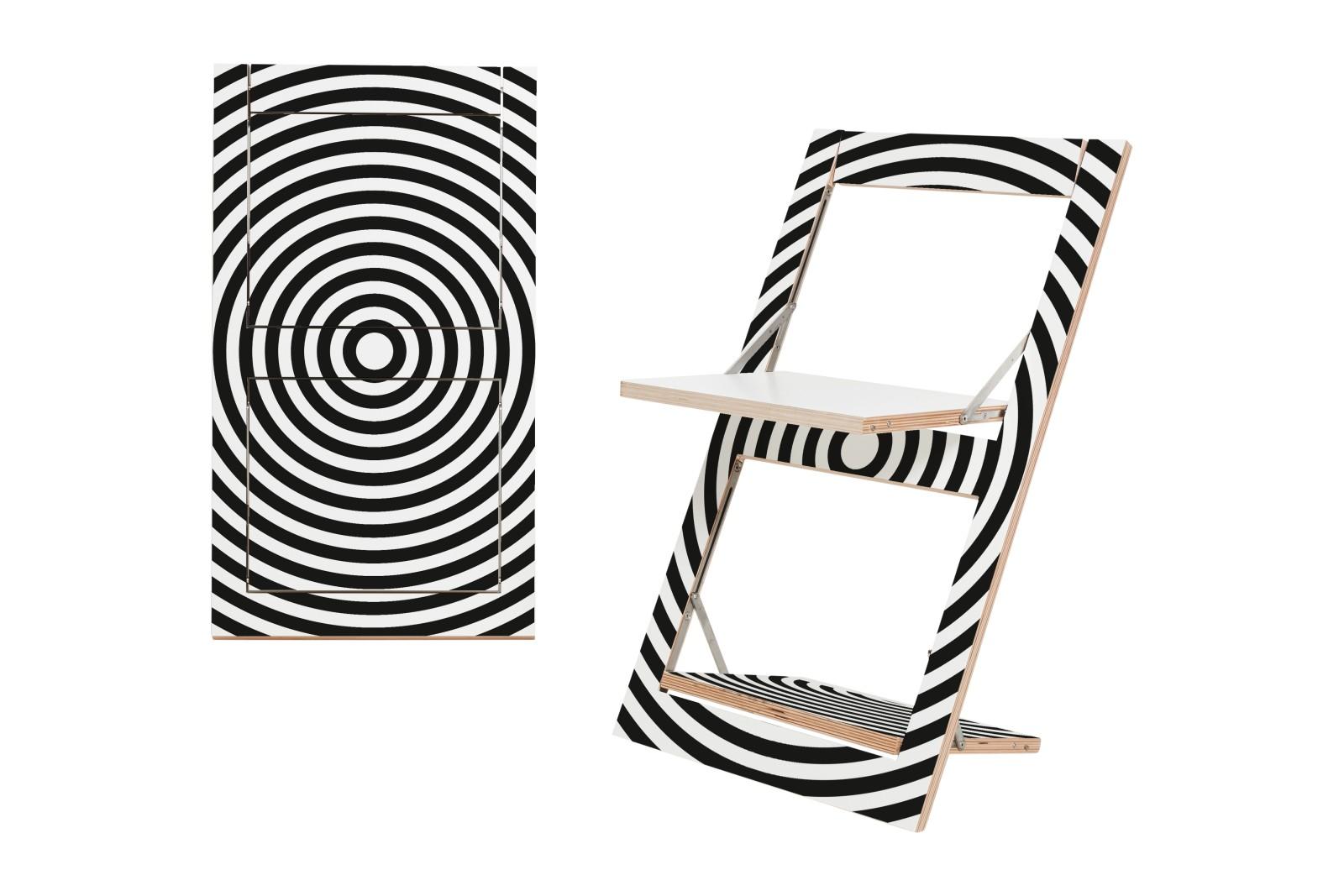 Fläpps Folding Chair Con Circle