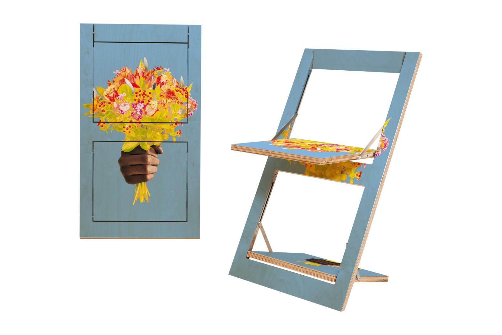 Fläpps Folding Chair Messerblumen