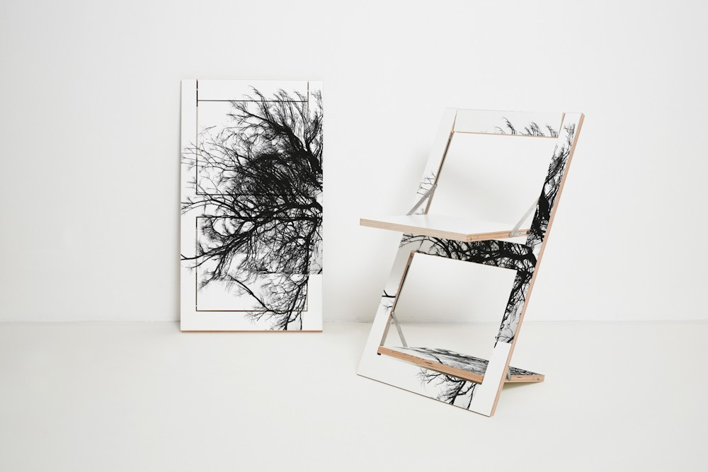 Fläpps Folding Chair Baum (print on one side)