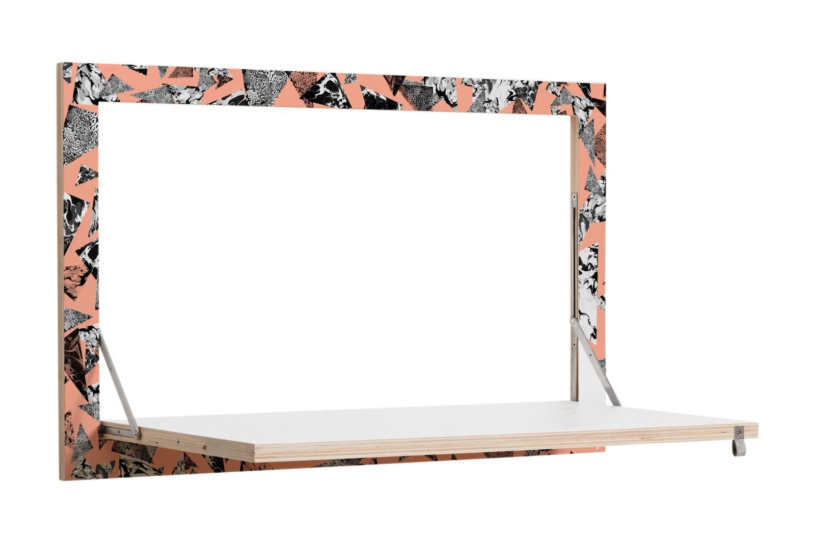 Fläpps Secretary Wall Desk PS Collage 3