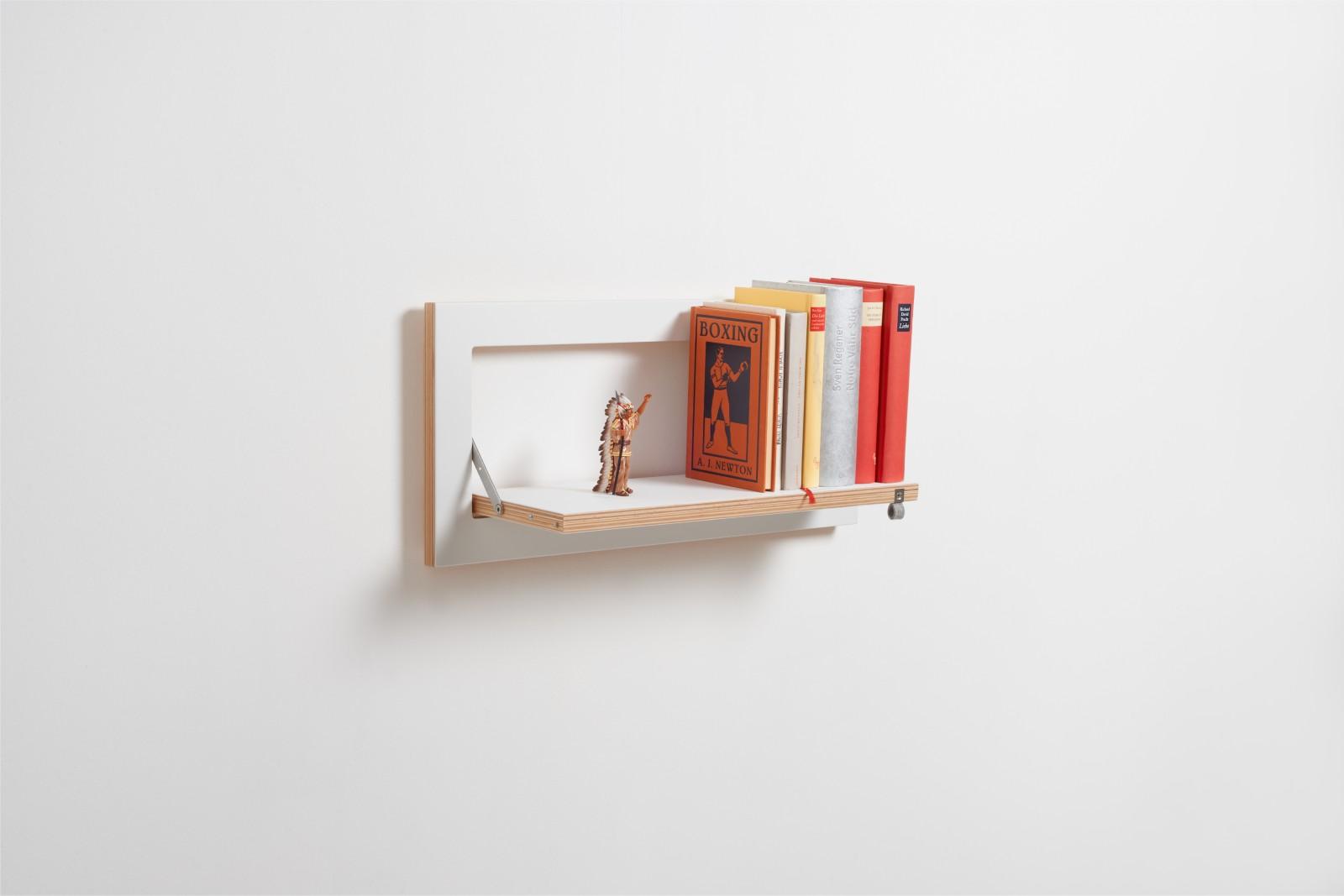 Fläpps Shelf 60x27-1 White