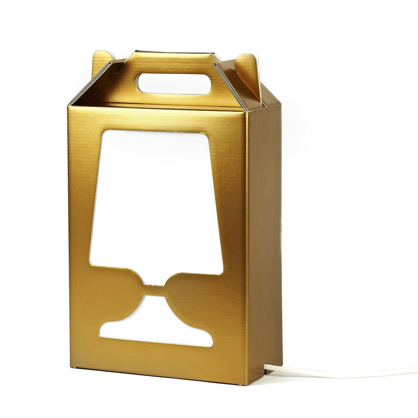 Flamp Gold & Silver Lamp Gold