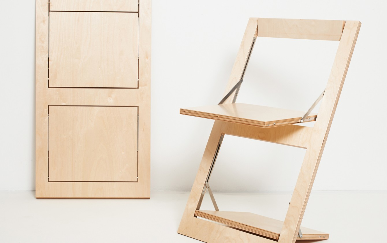 Fläpps Folding Chair Neutral