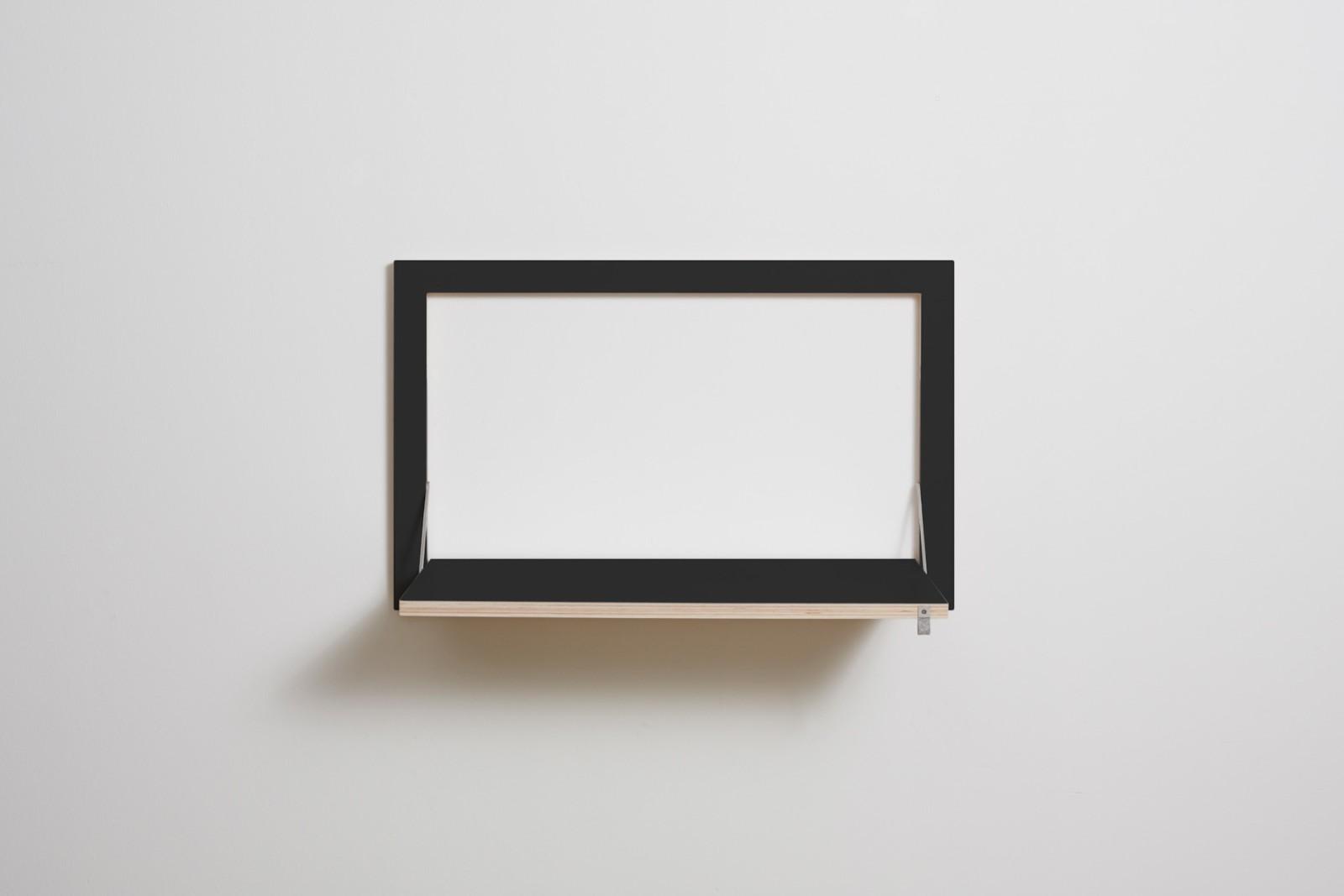 Fläpps Wall Desk Black - Matte Finish