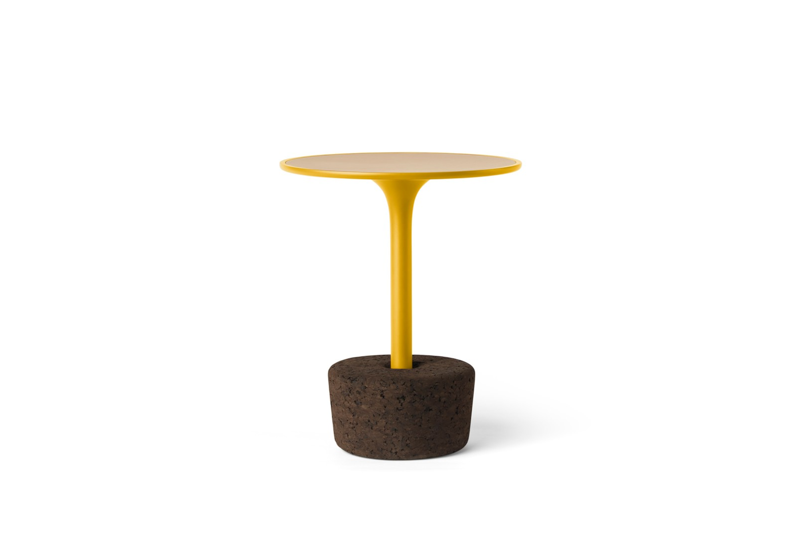 Flora Small Coffee Table Avid Yellow, Tall