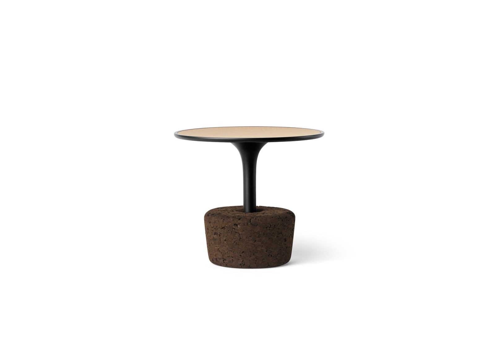 Flora Small Coffee Table Grumpy Black, Low