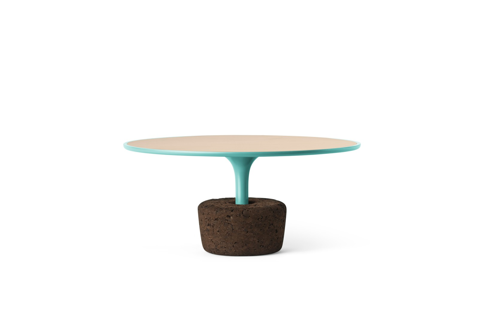 Flora Wide Low Coffee Table Scared Blue, Low