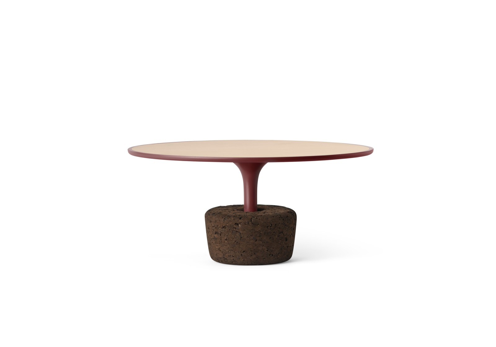 Flora Wide Low Coffee Table Luxury Red, Low