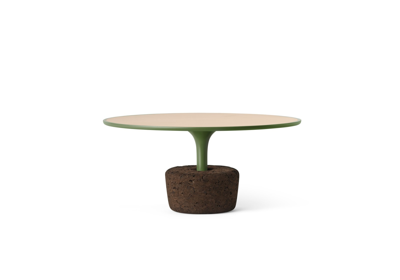 Flora Wide Coffee Table Sleepy Green, Low
