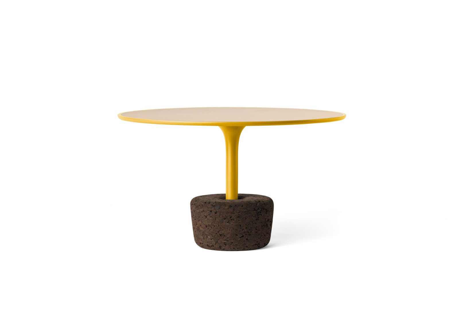 Flora Wide Tall Coffee Table Avid Yellow, Tall